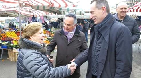 Riccardo Pase al mercato